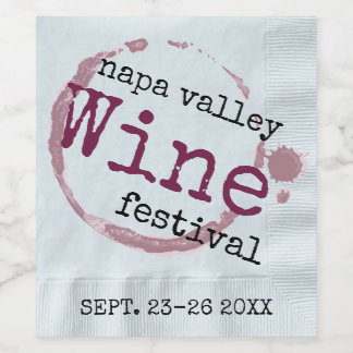 Wine Festival Wine Label