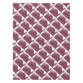 Wine Floral Spray Tablecloth