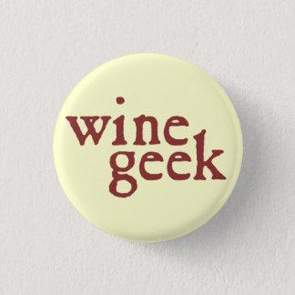 Wine Geek 1 Inch Round Button