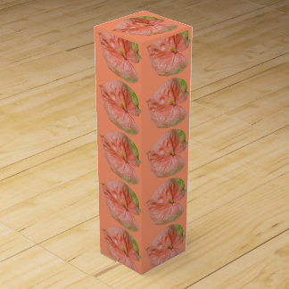 Wine Gift Box - Anthurium