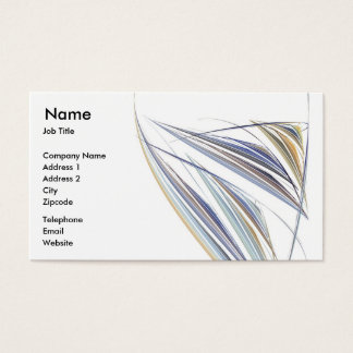 Wine Glass Business Card