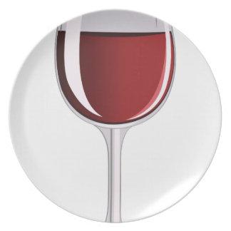 Wine Glass Dinner Plates