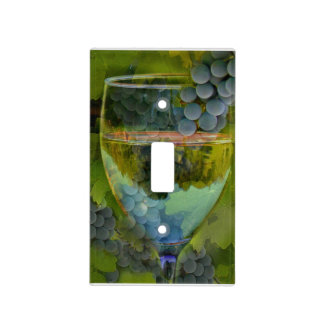 Wine Glass Light Switch Cover