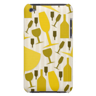 Wine glass pattern barely there iPod cover
