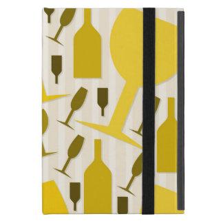 Wine glass pattern cases for iPad mini