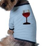 Wine Glass Pet Tshirt
