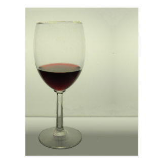 Wine Glass Postcard