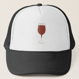 Wine Glass Trucker Hat