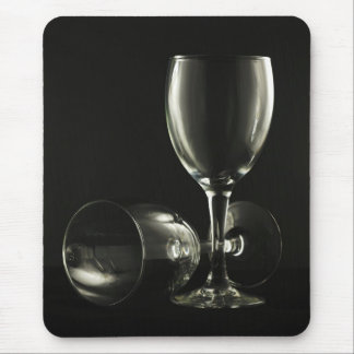 Wine Glasses Mouse Pad