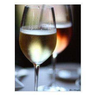 Wine Glasses Postcard