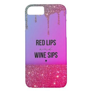 Wine&Glitter Case-Mate iPhone Case