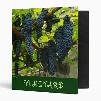 Wine grapes binders
