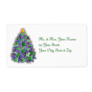 Wine Grapes Christmas Tree