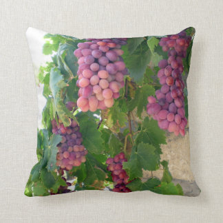 Wine Grapes Pillow
