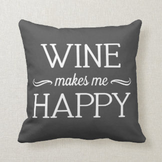 Wine Happy Pillow - Assorted Styles & Colors