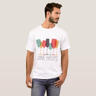 Wine Helps T-Shirt