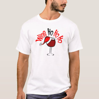 Wine Ho Ho T-Shirt