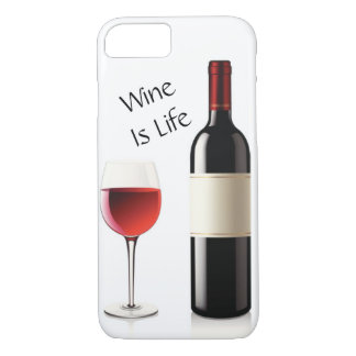 Wine Is Life iPhone 8/7 Case