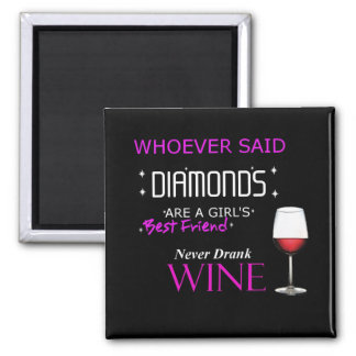Wine Is My BFF Magnet