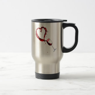 Wine Is My Valentine! Travel Mug