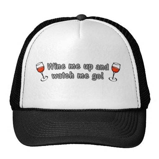 Wine je et m'observe aller ! casquette