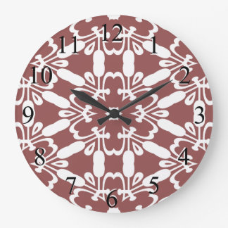Wine Kaliedoscope Wall Clock