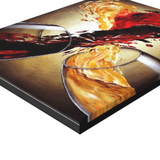 Wine Love, ...Love Wine. Canvas Print