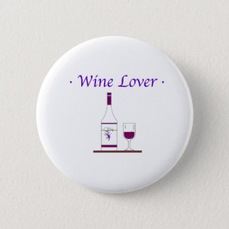 WINE LOVER_PURPLE 2 INCH ROUND BUTTON