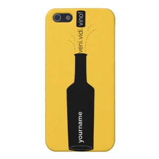 Wine Lover Veni Vidi Vino Phone Case iPhone 5/5S Covers