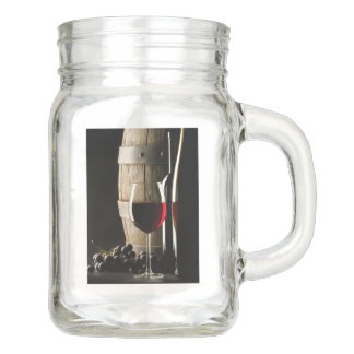 Wine Lover's Mason jars