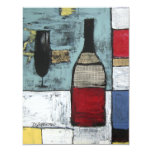 Wine Lovers Party Invitation - Art Cheers