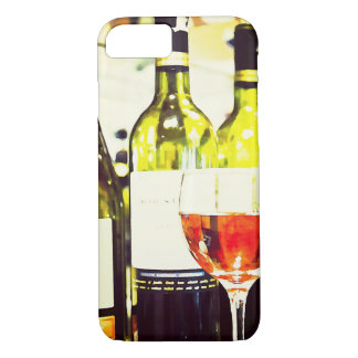 Wine Lovers Watercolor iPhone 7 Case