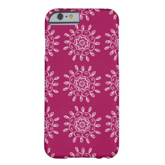 Wine Mandala Barely There iPhone 6 Case