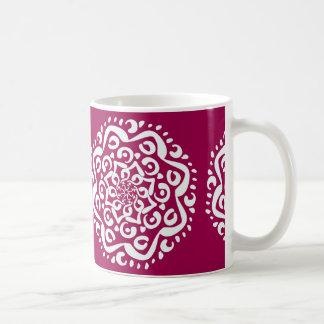 Wine Mandala Coffee Mug