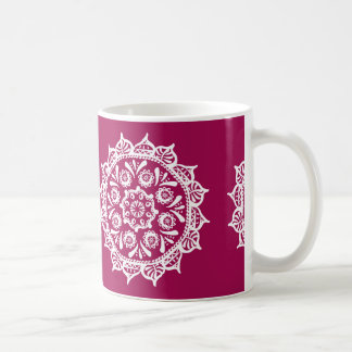 Wine Mandala Coffee Mug