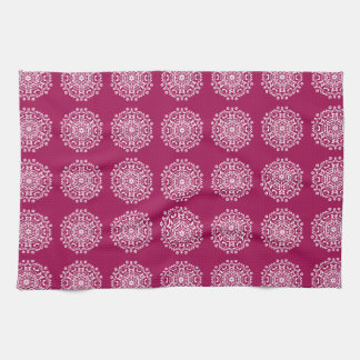 Wine Mandala Kitchen Towel
