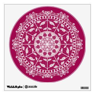 Wine Mandala Wall Sticker