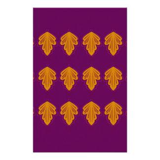Wine mandalas gold stationery