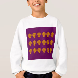 Wine mandalas gold sweatshirt