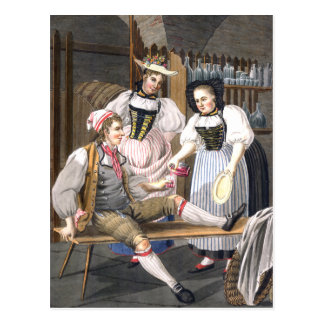 Wine Mistresses of Bern Postcard