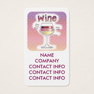 WINE, MORE WINE, EVEN MORE WINE BUSINESS CARD