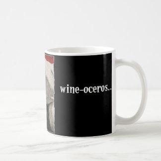 Wine-oceros Coffee Mug