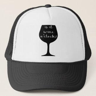 Wine O'Clock Trucker Hat