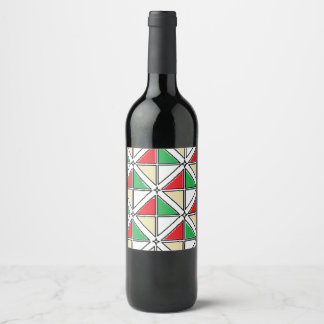 """Wine (or Champagne) Bottle Label (4"""" x 3.5"""")"""