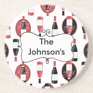 Wine Personalized Coaster