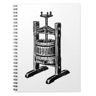 Wine Press Notebooks