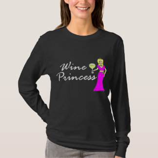 Wine Princess Royally Dark T-Shirt
