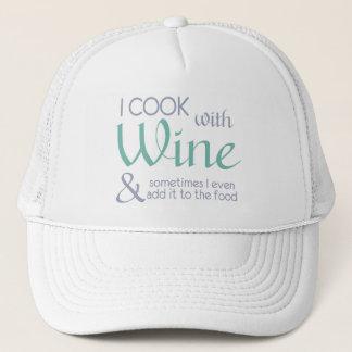Wine Quote hat
