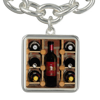 Wine Rack Abstract Bracelet