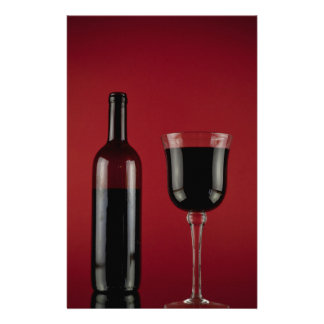 Wine red glass bottle customized stationery